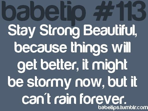 Stay strong cute-sayings