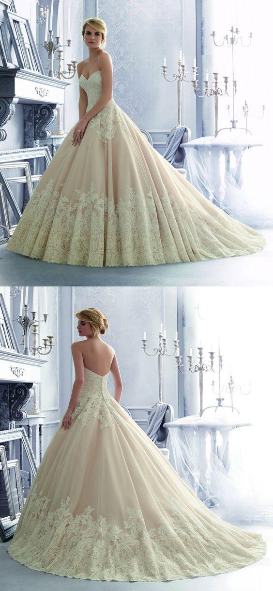 Maravilhoso! <3 by Mori Lee #vestidodenoiva #casamento #sitesdecasamento #casare #sitedosnoivos #omaiselegante