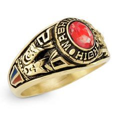 Girl's Classic Oval Class Ring