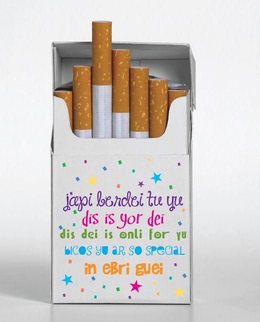 Cajetilla de cigarros personalizada manualidades pinterest for Cajas personalizadas con fotos