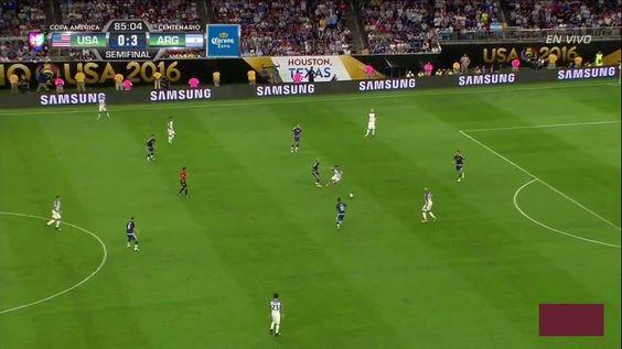 Higuaín 2nd Goal vs United States (4-0)