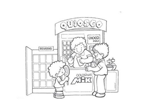 Quioscos De Feria Para Coloreardibujos Cerca Amb Google Tiendas Colorear Gratis Dibujos
