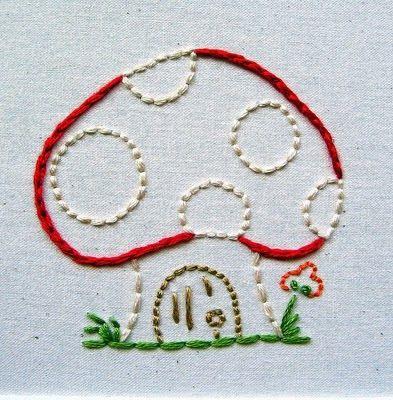 Mushroom quilt | giveaway~ pdf patterns!!