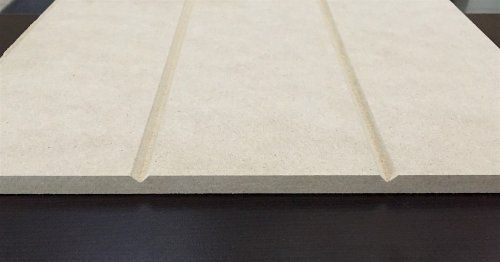 V Grooved Sheet In Raw Mdf Mdf Wall Panels Interior Barn Door Hardware Paneling Sheets
