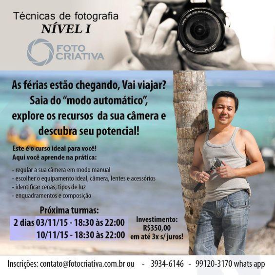 Dicas da Nilda: Fotocriativa e Vídeos - Curso de Fotografia