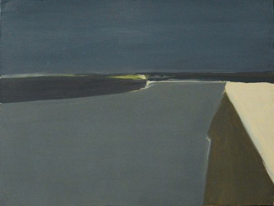 Channel of Gravelines, 1954 by Nicolas de Staël