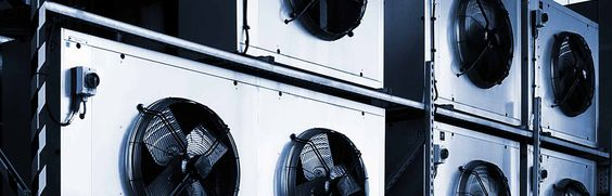 Air Conditioning Industrial Units.