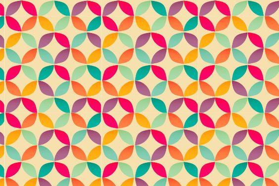 retro pattern - Pesquisa Google
