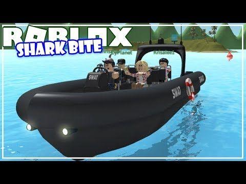 How To Bait A Shark Roblox Sharkbite Youtube Shark Shark Bites Roblox