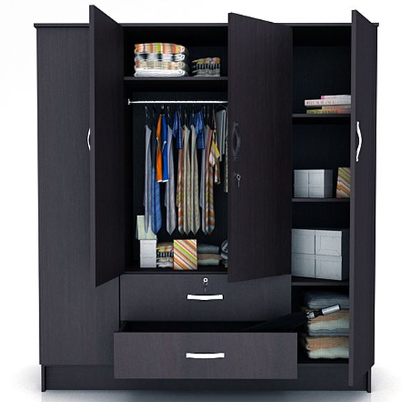 4 door wardrobe designs for bedroom google search room for Bedroom cabinet designs india
