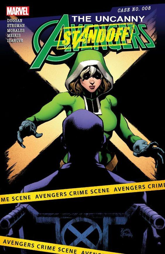 Uncanny Avengers (2015) #8 #Marvel @marvel @marvelofficial #UncannyAvengers (Cover Artist: Ryan Stegman) Release Date: 4/6/2016