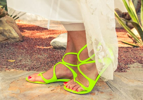 Seeing green: http://www.thecoveteur.com/lily-kwong-festival-style/
