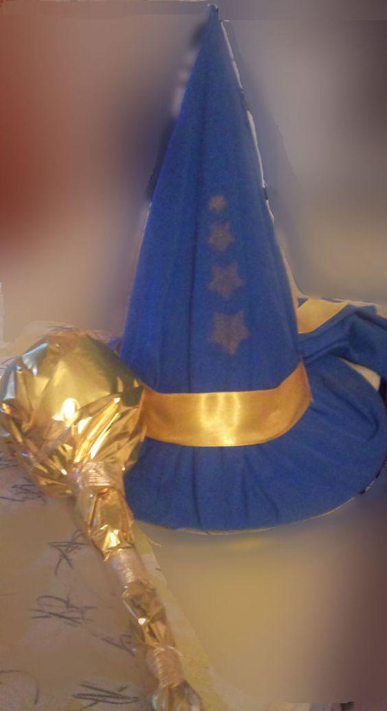 Fabriquer soi-même un déguisement de magicien Merlin l'Enchanteur