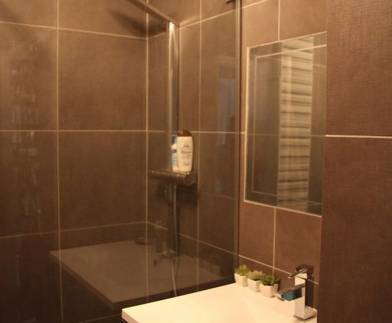 Deco photo salle de bains et taupe sur salle - Deco salle de bain taupe ...