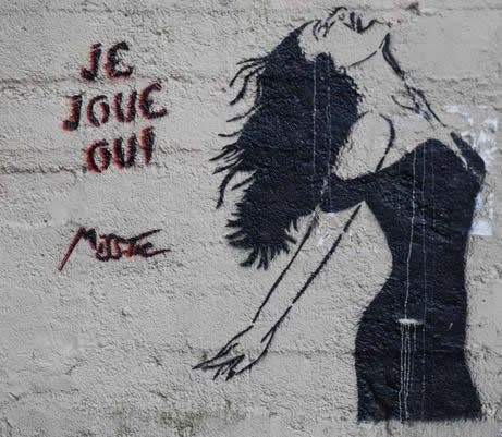 Les tags, les graffitis - Miss-Tic