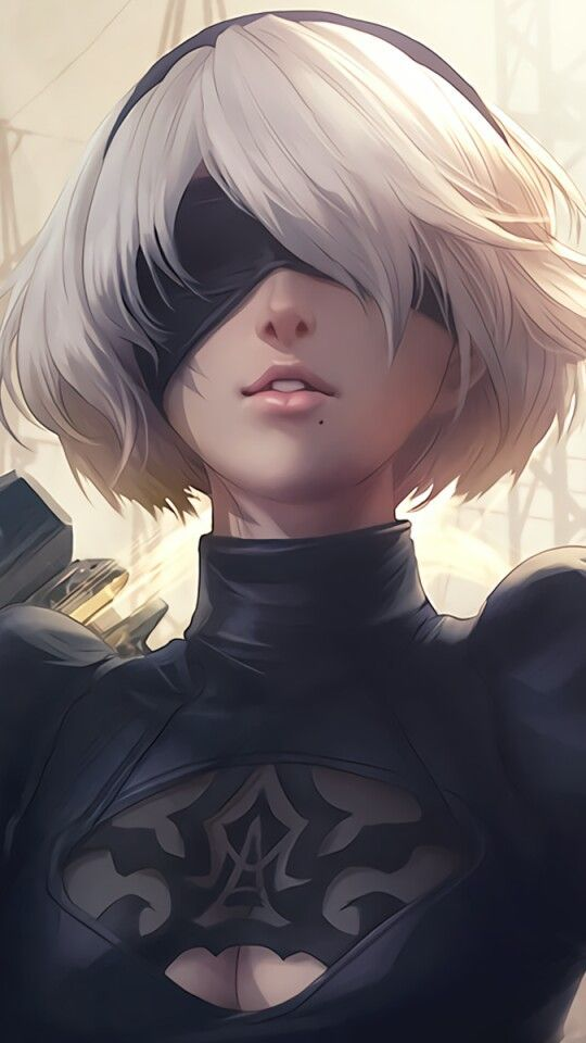 So Beautiful Nier Automata 2b Art