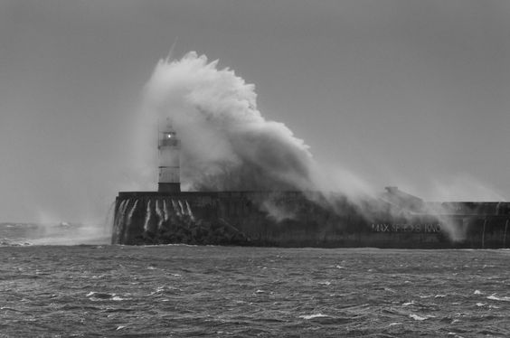Stormy sea by SPIngram (Simon Ingram)  on 500px