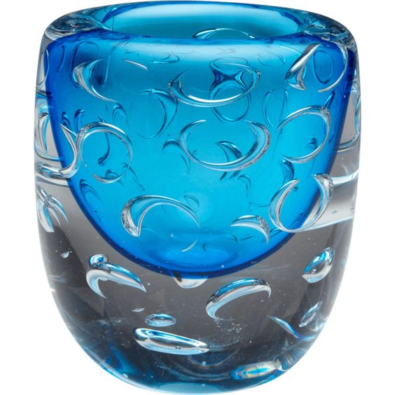Cyan Design Cobalt Blue Bristol Decorative Vase Featuring Polyvore Home Home Decor Vases Cobalt Vase Cobalt