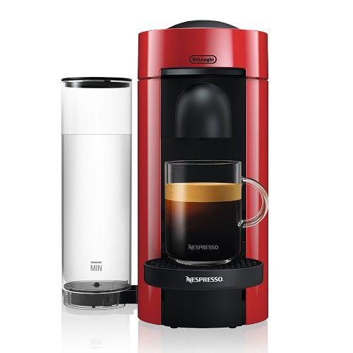 Nespresso Vertuo Plus Coffee Espresso Maker By Delonghi Red Williams Sonoma Coffee And Espresso Maker Coffee And Espresso Maker Nespresso Coffee Machine