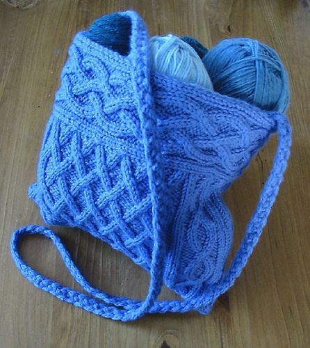 Ravelry Quinn Cabled Bag Pattern By Yvonne Kao Nb To Self