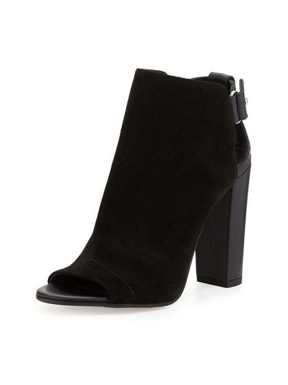 Addison Peep-Toe Bootie by Vince at Gilt