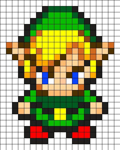 Link by Urcujiro on Kandi Patterns: