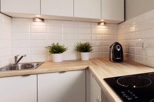 Znalezione Obrazy Dla Zapytania Kafelki Biala Kuchnia White Kitchen Kitchen 3d Wall Panels