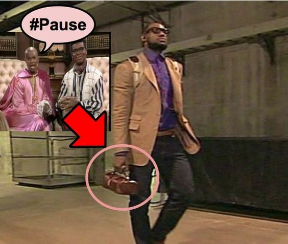 man purse.. yay or nay? SUMOskinny.com