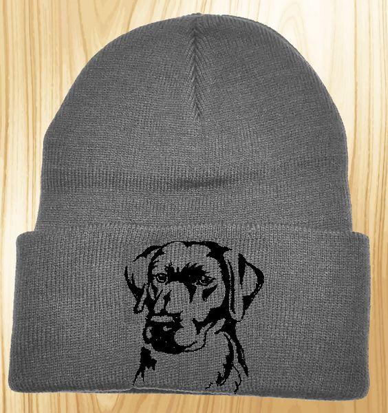 Labrador Retriever Knit Ski Hat