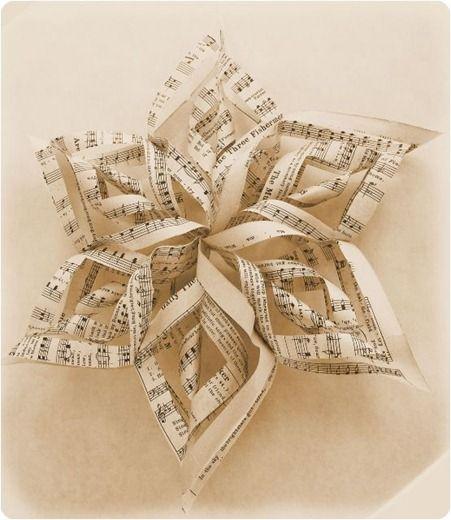 sheet music ornament