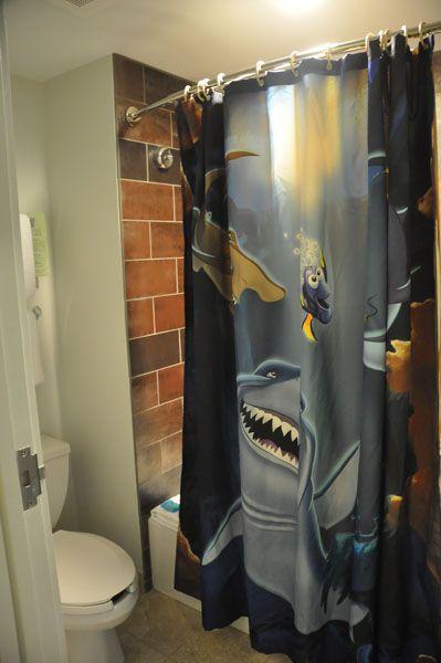 shark bathroom finding nemo seciton of disney 39 s art of
