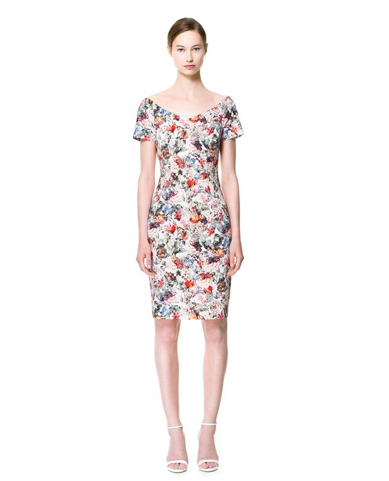 FLORAL PRINT DRESS - Dresses - Woman - New collection | ZARA United States