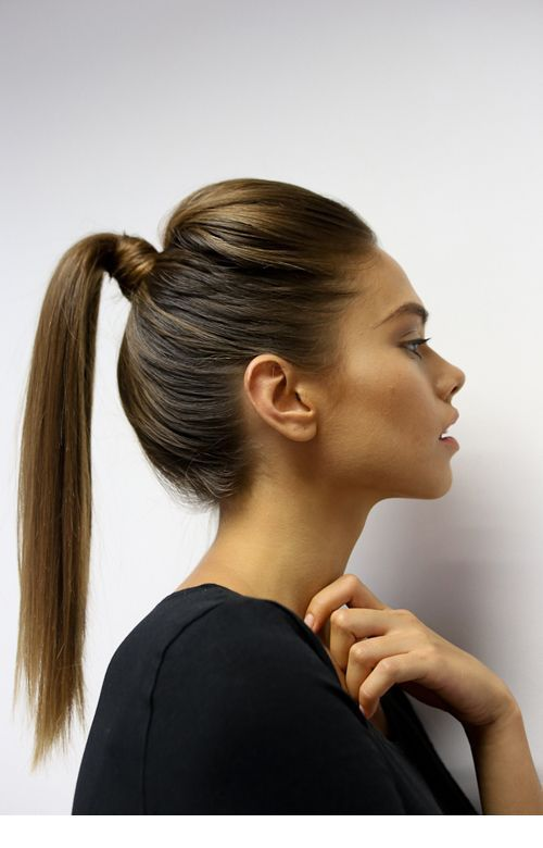 I Like This High Pony Tail Inspiring Ladies New Site High Ponytail Hairstyles Ponytail Hairstyles Perfect Ponytail
