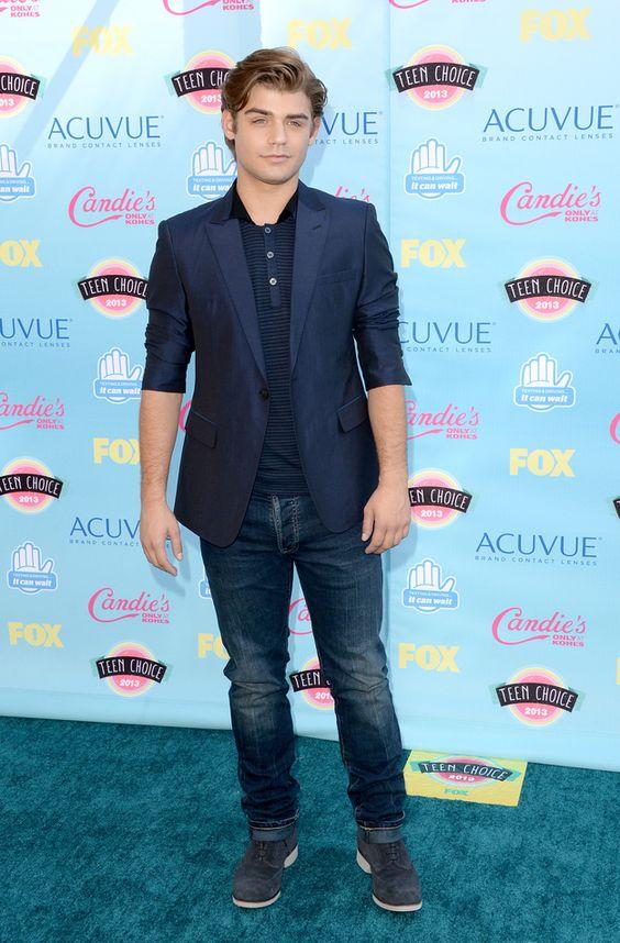 Garrett Clayton | Fashion At The 2013 Teen Choice Awards