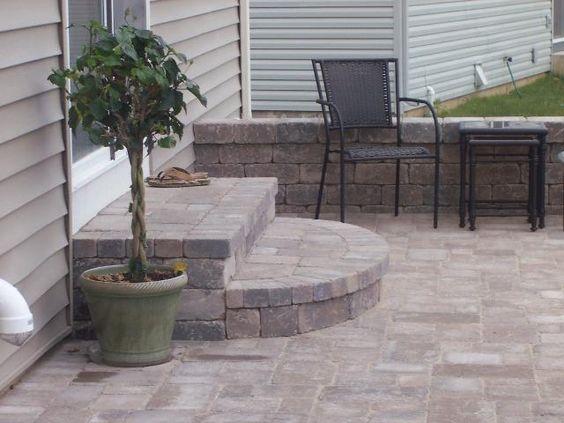 Backyard | Pinterest | Patio Steps, Patios And Backyard