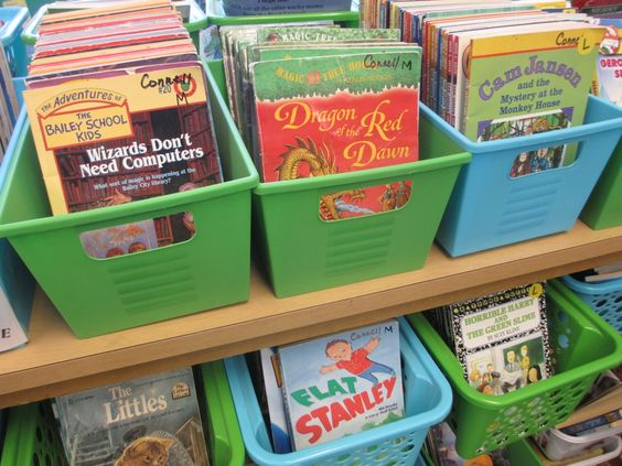 Tips on having an organized classroom library
