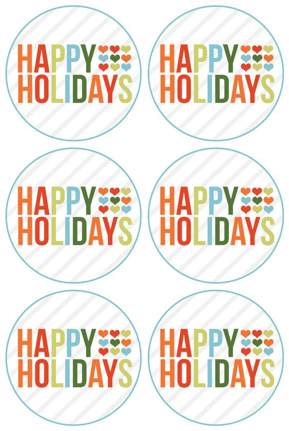 Happy Holidays Free Printable Rejoi Free Printable Christmas Gift Tags Christmas Gift Tags Printable Merry Christmas Gift Tags