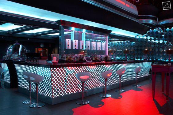 Glass Restaurant Design Glassbar - Bar design tribe hyperclub by paolo viera