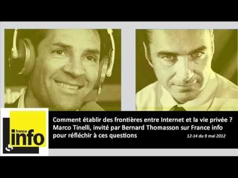Marco Tinelli, invité par Bernard Thomasson sur France Info