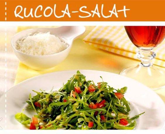 Gaumenfreuden - Rezept >>Rucola-Salat<< - Selbstgemacht schmeckt doch immer noch am besten und mit den richtigen Küchenhelfern gelingt alles ganz leicht!