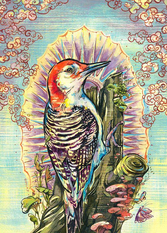 Angel Bird - Jacqui Oakley