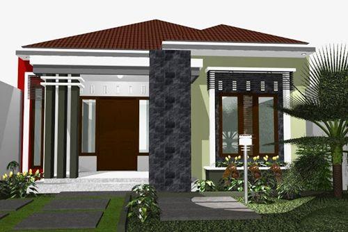 41 Model Rumah Minimalis Sederhana 1 Lantai World Design Tips Bungalow House Design Minimalist House Design Small House Design Plans