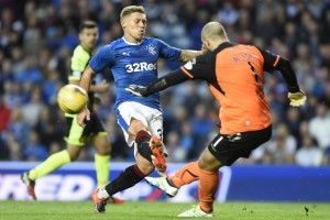 Rangers striker Martyn Waghorn fit to face Celtic