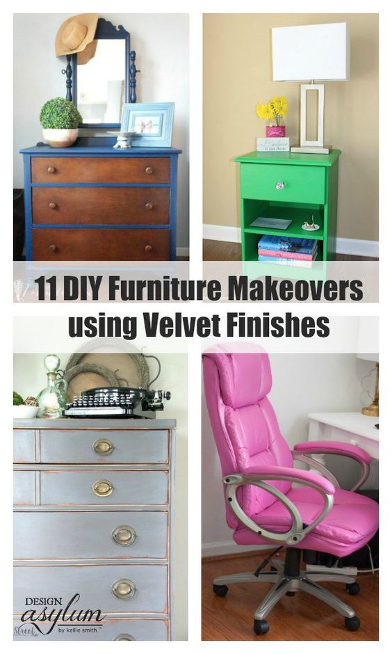 11 Diy Furniture Makeovers Using Velvet Finishes Velvet