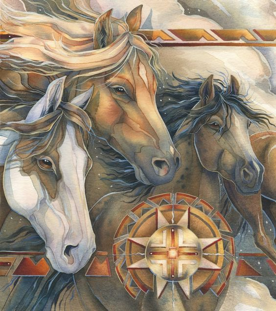 """Strength of Spirit (zoom)"" par Jody Bergsma"