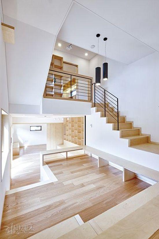 36 Desain Interior Rumah Minimalis Dengan Lantai Mezzanine 1000 Inspirasi Desain Arsitektur Teknologi K Desain Interior Rumah Interior Rumah Desain Interior
