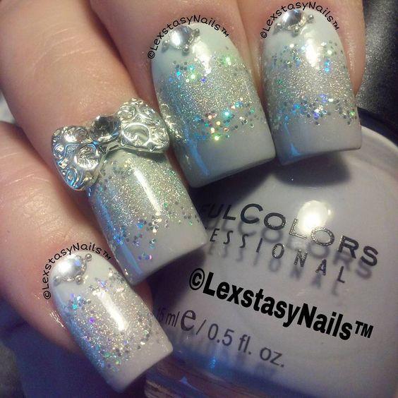 Fresh Paint Firefly ; Milani HD ; Sinful Colors Mauve ; loose glitter ; 10/21/15 ; lexstasynails