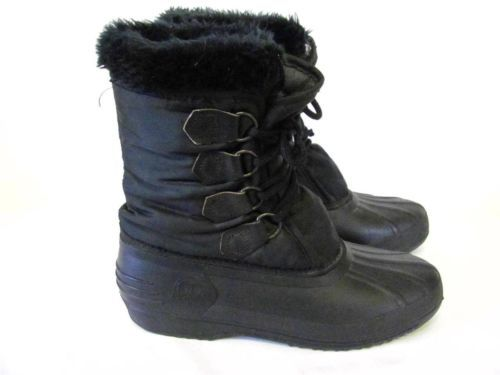 Sorel Kaufman Snow Boots Women size 9 | Winter Gear | Pinterest ...