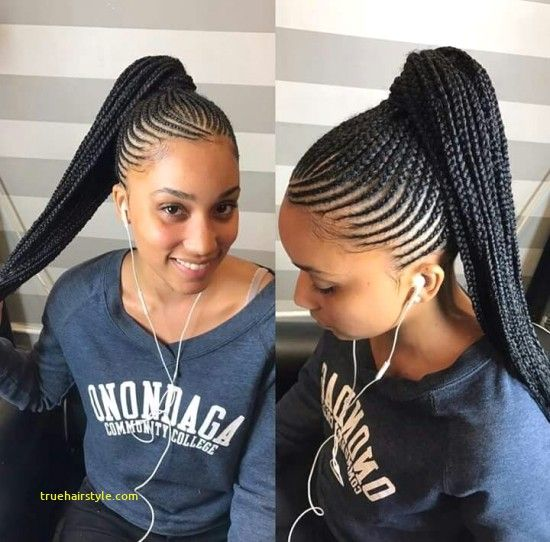 Unique Braided Straight Up Hairstyles With Images Braided