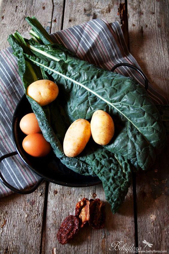 Behyflora... la vie en rose: {Healthy} Kale-Potatoe-Frittata